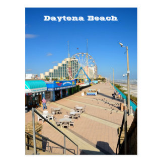 Daytona Beach, Florida Postcard