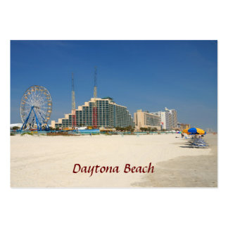 daytona beach florida usa pack of chubby business cards