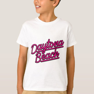 Daytona Beach in magenta T-Shirt