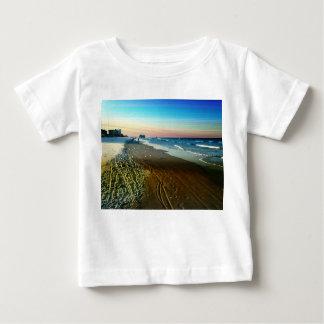Daytona Beach Shoreline and Boardwalk Baby T-Shirt