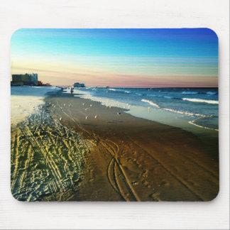 Daytona Beach Shoreline and Boardwalk Mouse Pad
