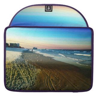 Daytona Beach Shoreline and Boardwalk Sleeve For MacBook Pro