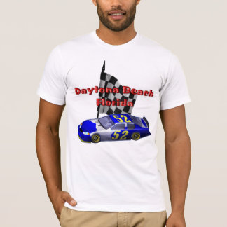 Daytona Beach Speedway Racer Mens T-Shirt