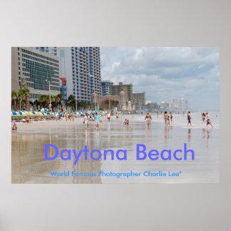 """Daytona Beach, """"World Famou... Poster"""