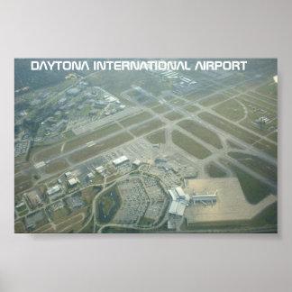 Daytona International Airport Poster