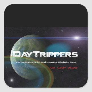 DayTrippers Gear Stickers for Smart People