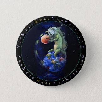 Daze of the Iguana 6 Cm Round Badge
