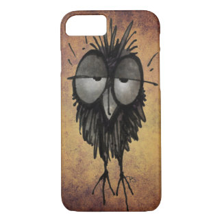 Dazed and Confused Sleepy Owl Lover iPhone 8/7 Case