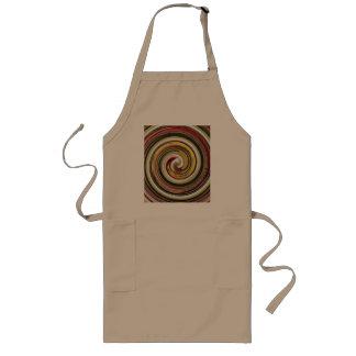 dazzle long apron