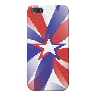 Dazzle Me Patriotic iPhone 5/5S Covers