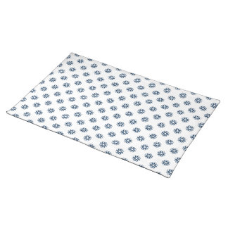 Dazzling Blue Flower 7 Placemat