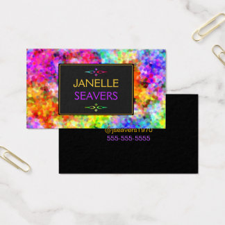 Dazzling Chakra Colors Business Card