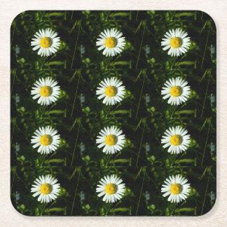 Dazzling Daisy Paper Coaster