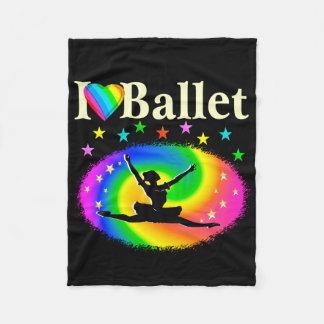 DAZZLING DANCING QUEEN FLEECE BLANKET