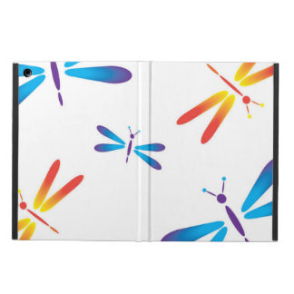 Dazzling dragonflies iPad air cover