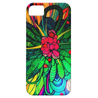 Dazzling Floral Abstract Flower iPhone 5 Covers