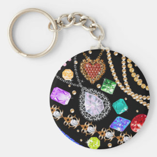 Dazzling gems keychain