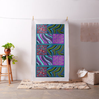Dazzling Tropical Tapestry Pima Cotton Fabric