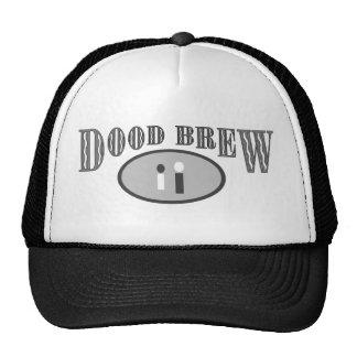 DB07 - Black/Gray Logo - Trucker Hat