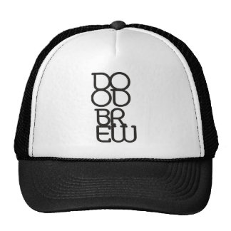 DB07 - DB Black Logo - Trucker Hat