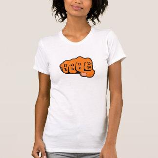 DB07 - Fist03 - Ladies AA Cap Sleeve Raglan (Fitte T-Shirt