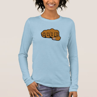 DB07 - Fist03 - Ladies Long Sleeve (fitted) Long Sleeve T-Shirt