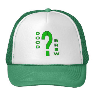 DB07-Question Mark - Green/Black - Trucker Hat
