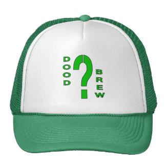 DB07-Question Mark - Green/Black - Trucker Hat