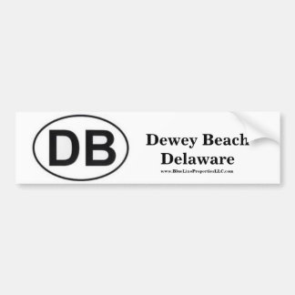 DB Bumper Sticker