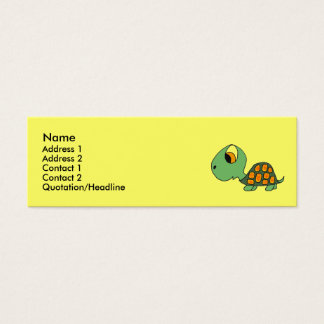 DB- Funny Turtle Business Cards