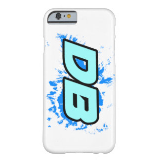 DB on white Barely There iPhone 6 Case