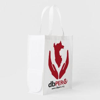 DB Peru Logo Reusable Grocery Bag