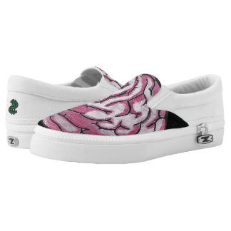 DBR CLOTHING CO BRAIN ZOMBIE SHOES