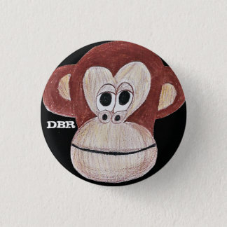 DBr Clothing Co Houston monkey Biz pin