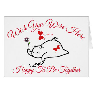 DBY Wish You Were Here Card