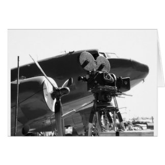 DC3 with movie camera Card