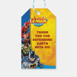 DC Comics | Justice League - Birthday Gift Tags