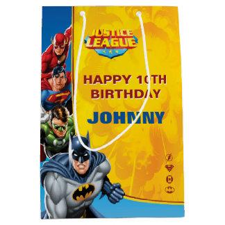 DC Comics | Justice League - Birthday Medium Gift Bag