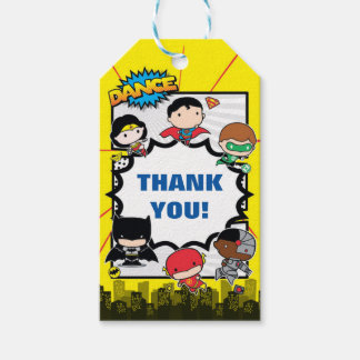 DC Comics | Justice League - Chibi Birthday Gift Tags