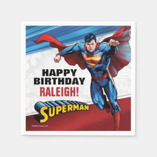 DC Comics   Superman - Birthday Disposable Napkin