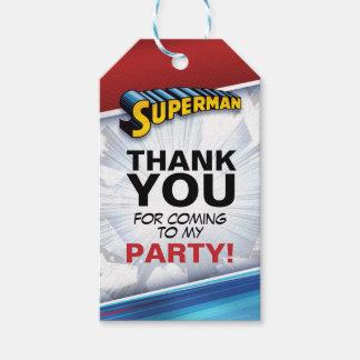 DC Comics | Superman - Birthday Gift Tags