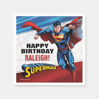 DC Comics | Superman - Birthday Paper Napkin