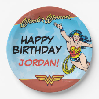 DC Comics | Wonder Woman Birthday 9 Inch Paper Plate