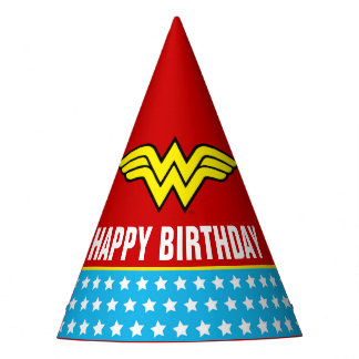 DC Comics | Wonder Woman Birthday Party Hat