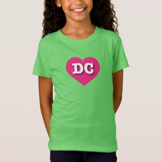DC Hot Pink Heart - Big Love T-Shirt