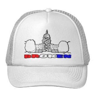DC Is BROKEN Trucker Hat