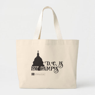 DC Is My Campus 2 Large Tote Bag