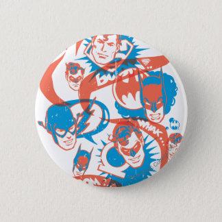 DC Originals - Logo Burst 6 Cm Round Badge