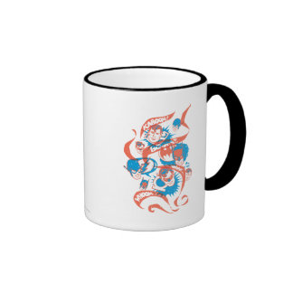 DC Originals - Logo Burst Ringer Mug