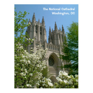 DC Postcard: The National Cathedral Postcard